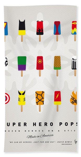 My Superhero Ice Pop - Univers Beach Towel
