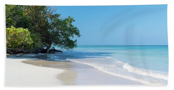 Negril Beach Morning Beach Towel