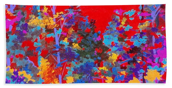 New Mexico Woods Beach Towel