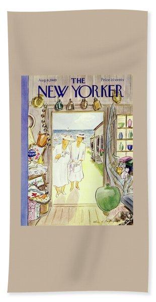 New Yorker August 6 1949 Beach Towel