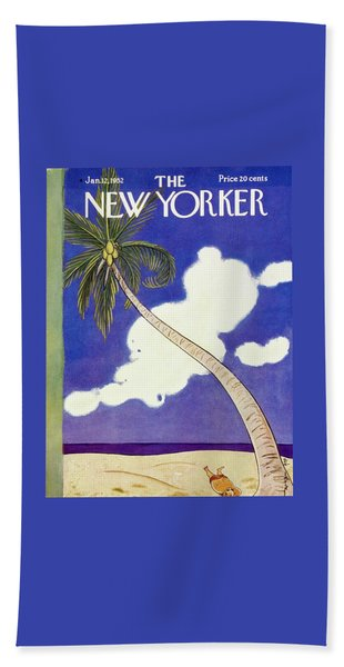 New Yorker January 12 1952 Beach Towel