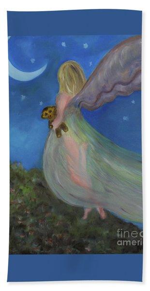 Night Fairy Beach Towel