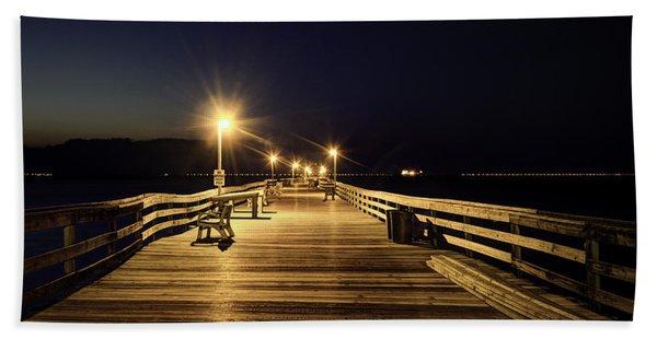 Night Fishin' Beach Towel