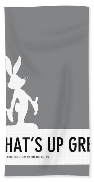 No06 My Minimal Color Code Poster Bugs Beach Towel