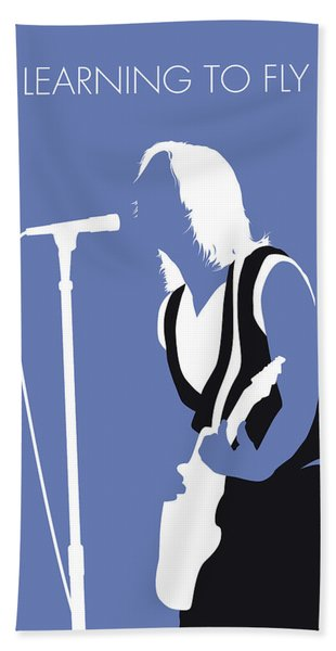 No178 My Tom Petty Minimal Music Poster Beach Towel