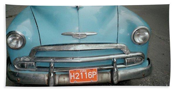 Old Havana Cab Beach Sheet