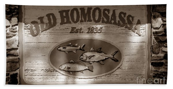 Old Homosassa Beach Towel