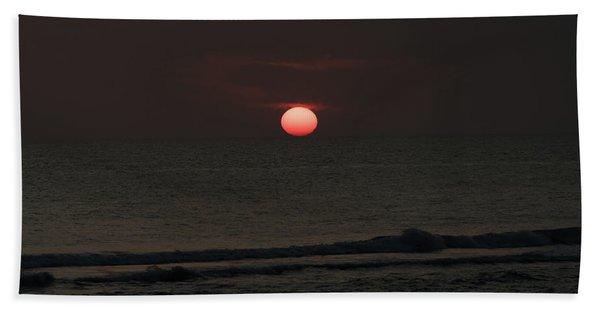 Onyx Sunset Venice Florida Beach Towel