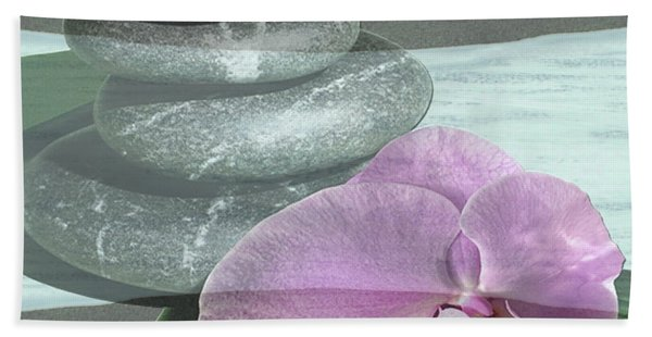 Orchid Tranquility Beach Towel