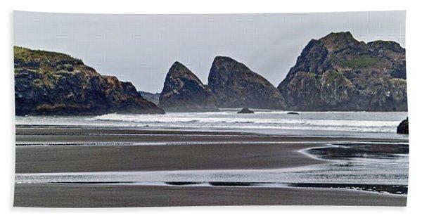 Oregon Tide Beach Towel