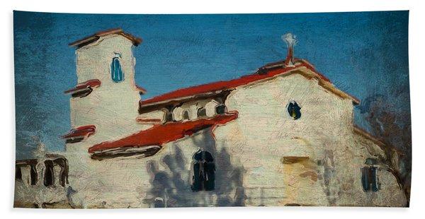 Our Lady Of La Salette Mission Paint Beach Towel