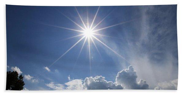 Our Shining Star Beach Sheet