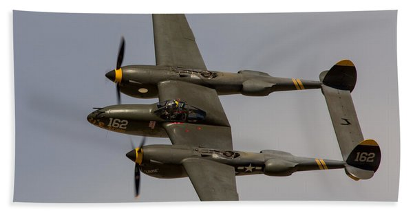 P-38 Skidoo Beach Towel