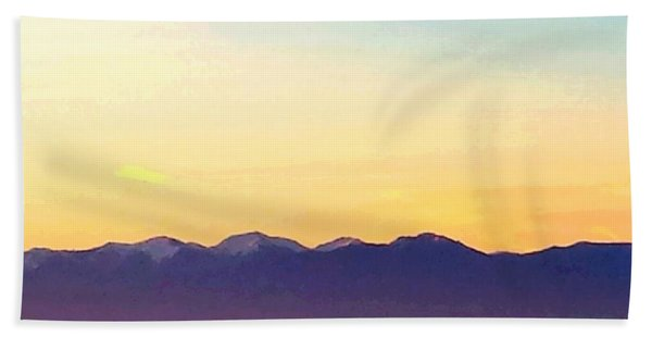 Pacific Twilight Beach Towel