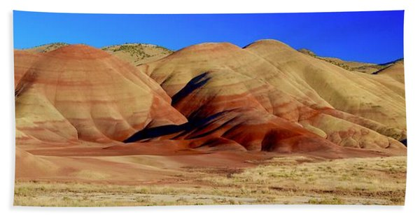 Painted Hills Pano Beach Towel