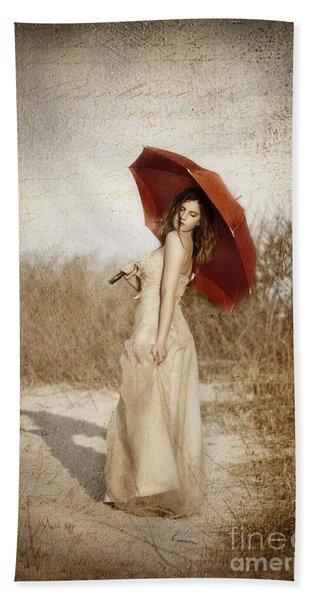 Painted Lady Beach Towel
