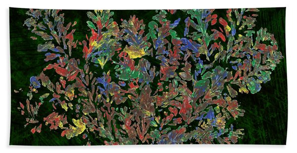 Painted Nature 2 Beach Towel