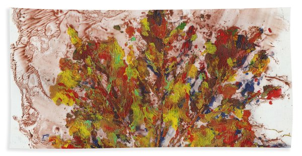 Painted Nature 3 Beach Towel