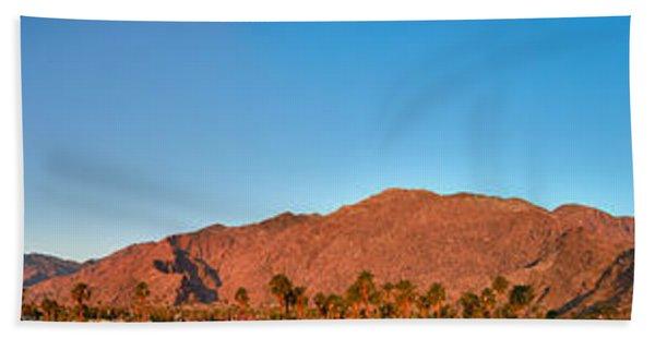 Palm Springs Sunrise Beach Towel