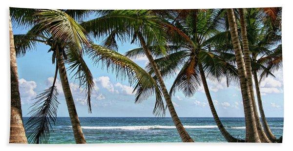 Palm Walk Beach Towel