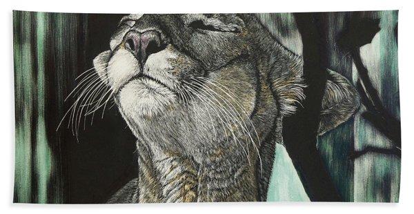Panther, Cool Beach Towel