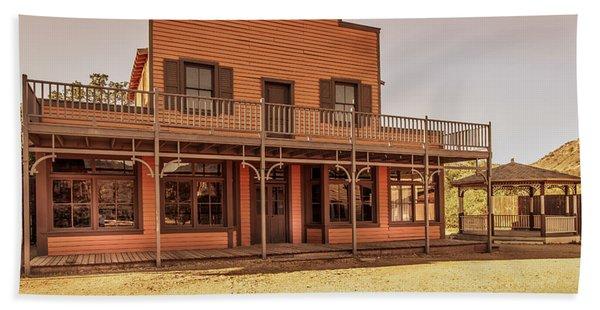 Paramount Ranch Saloon Beach Sheet