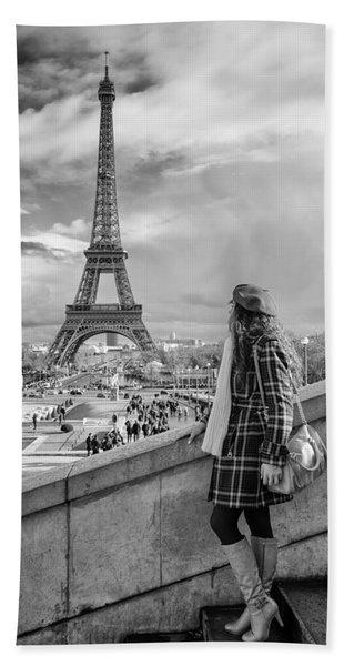 Parisien 2 Beach Towel