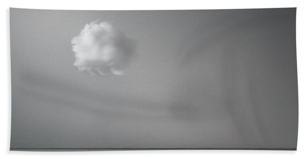Partly Cloudy Beach Towel