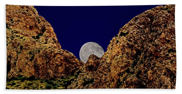 Peak Full Moon H03 Beach Towel