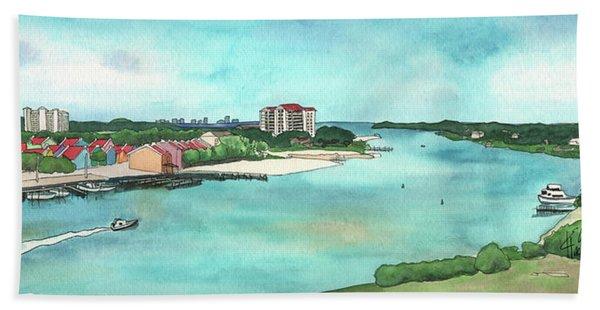 Perdido Key River Beach Towel