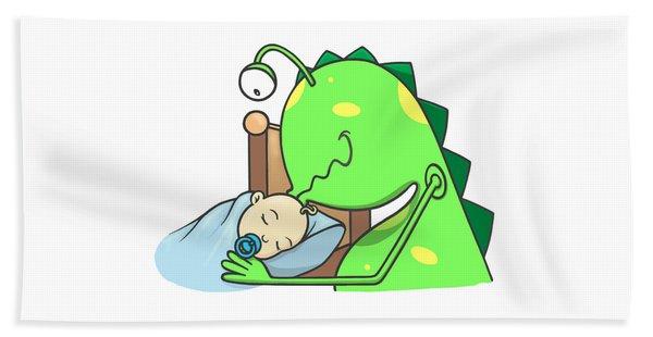 Peter And The Closet Monster, Kiss Beach Towel