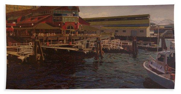 Pier 55 - Red Robin Beach Towel