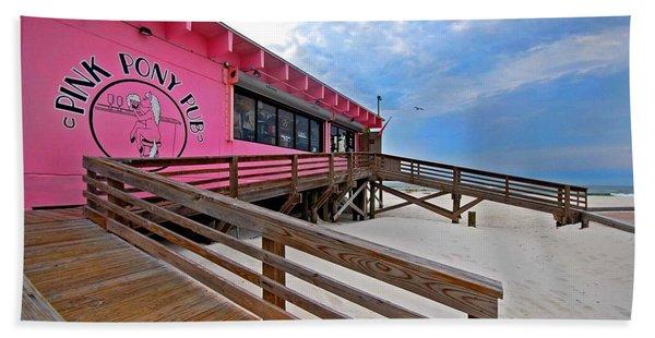 Pink Pony Beach Towel