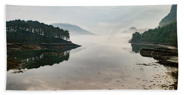 Plockton, Highlands, Scotland,  Beach Towel