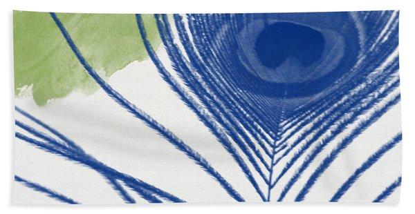 Plumage 3- Art By Linda Woods Beach Towel