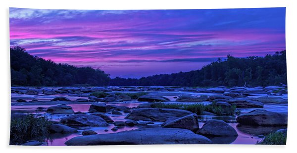 Beach Towel featuring the photograph Pony Pasture Sunset by Jemmy Archer