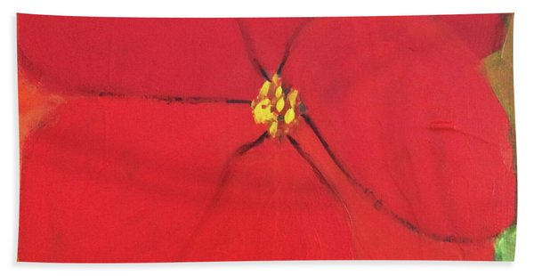 Poppy 2 Beach Towel