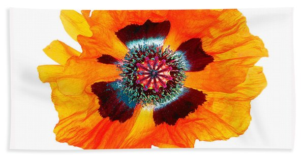 Poppy Pleasing Beach Towel