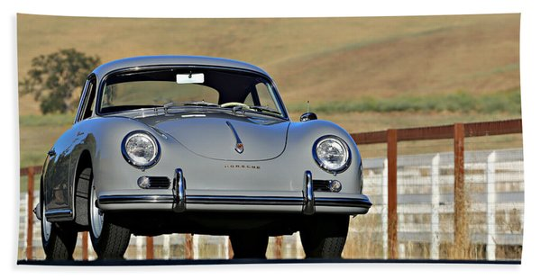 Porsche 356a European Beach Towel