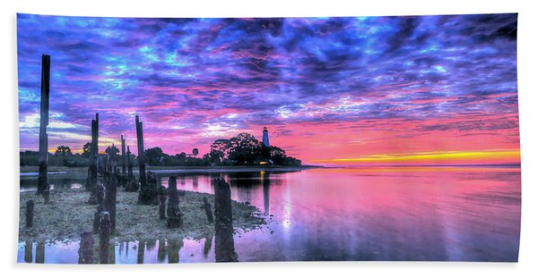 Pre Dawn At St. Marks #1 Beach Towel