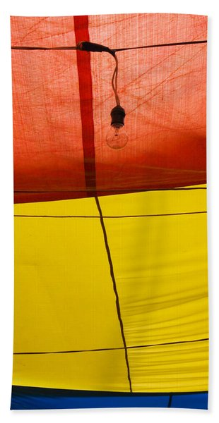 Beach Towel featuring the photograph Primary Light by Skip Hunt