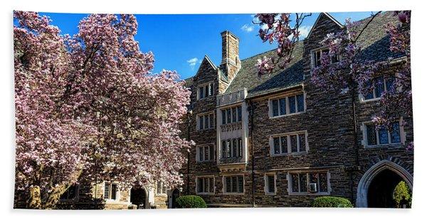 Princeton University Pyne Hall Courtyard Beach Towel