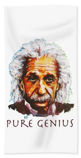 Pure Genius - Einstein Beach Towel