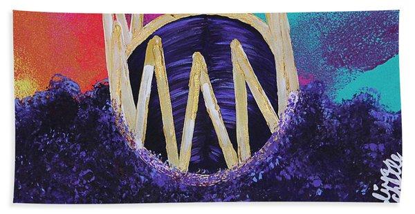 Purple Reign  Beach Towel
