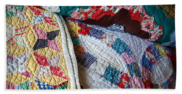 Quilted Comfort Beach Towel