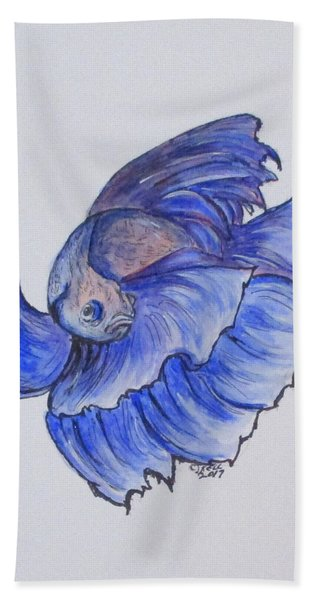 Ralphi, Betta Fish Beach Towel