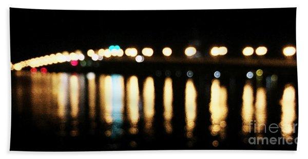 Bridge Of Lions -  Old City Lights Beach Towel