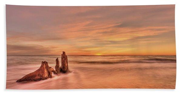 Red Sensation Beach Towel