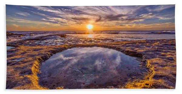 Reflecting Pool Beach Towel