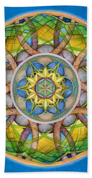 Rejuvenation Mandala Beach Towel